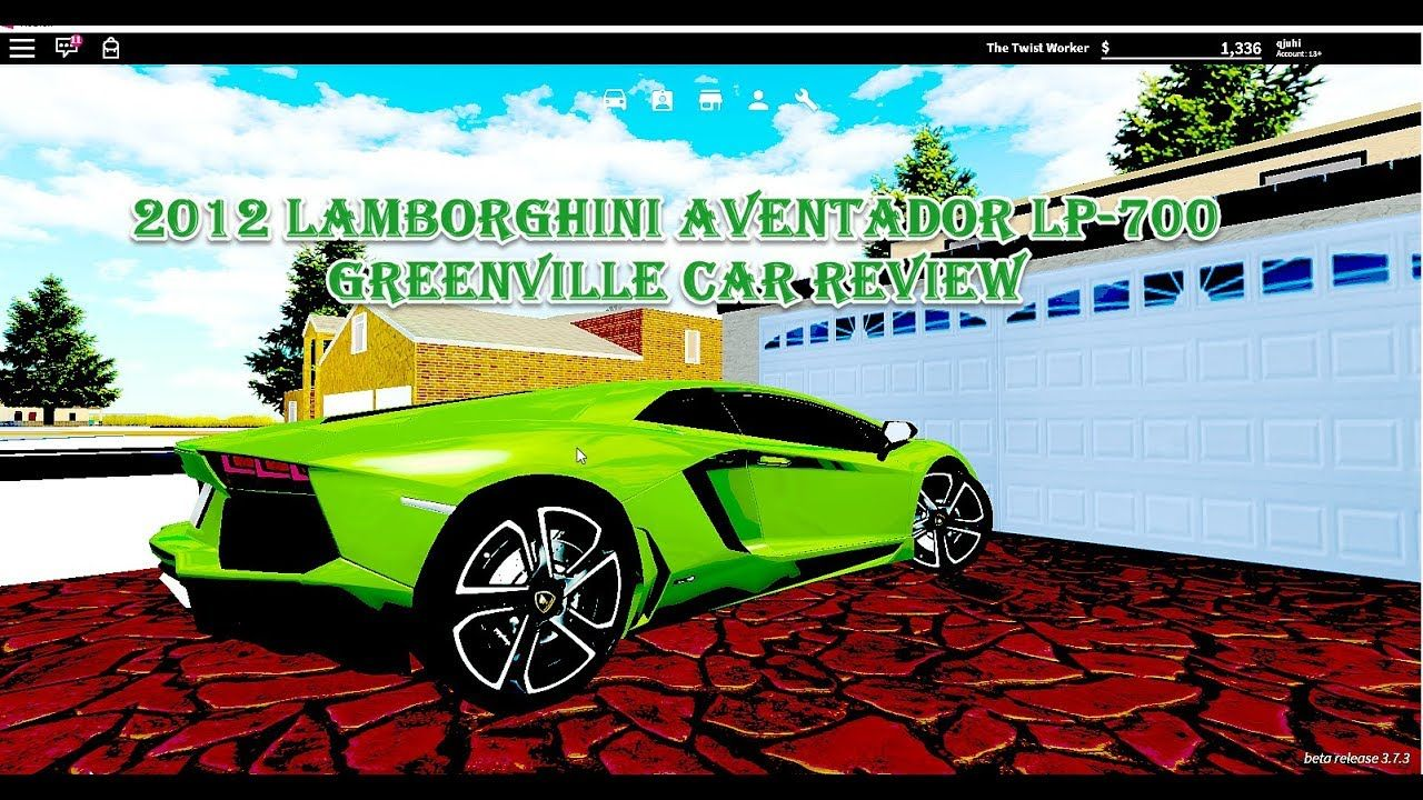 2012 LAMBORGHINI AVENTADOR LP-700 GREENV… | THIS IS A VEDO I DID ON