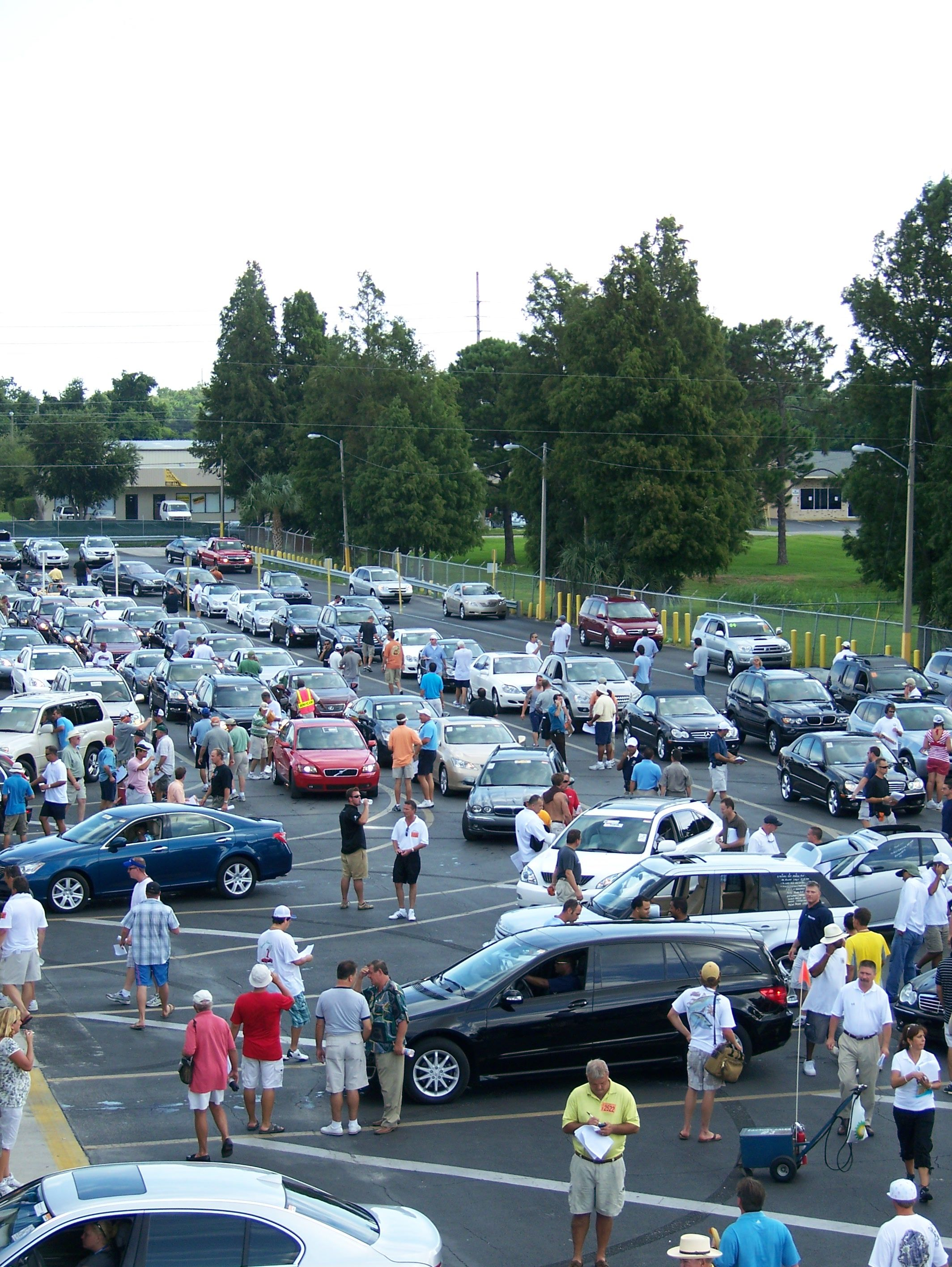 Manheim Orlando Auto Auction - Roof top view | Leadership