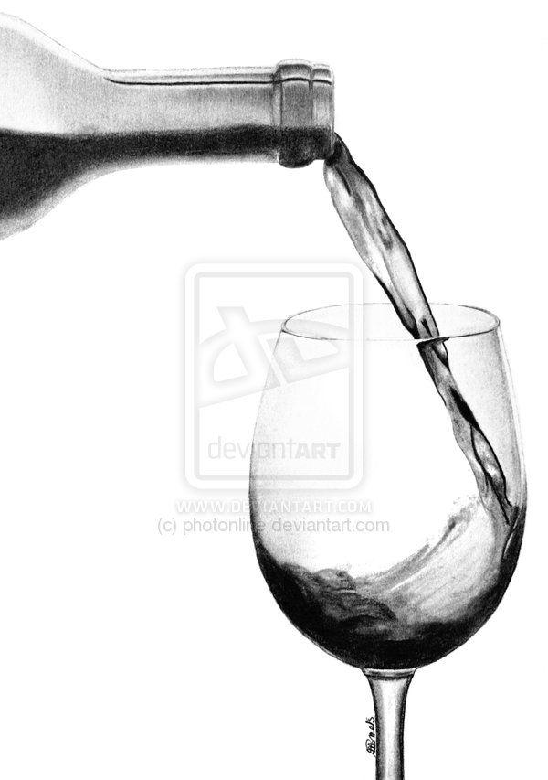 pourring wine by photonline.deviantart.com on @deviantART