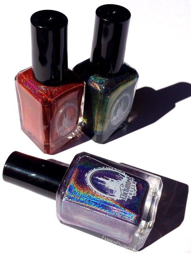 fingers polish mania: EP Keep Watch, LSL Sugared Berries  Enchanted Polish Keep Watch