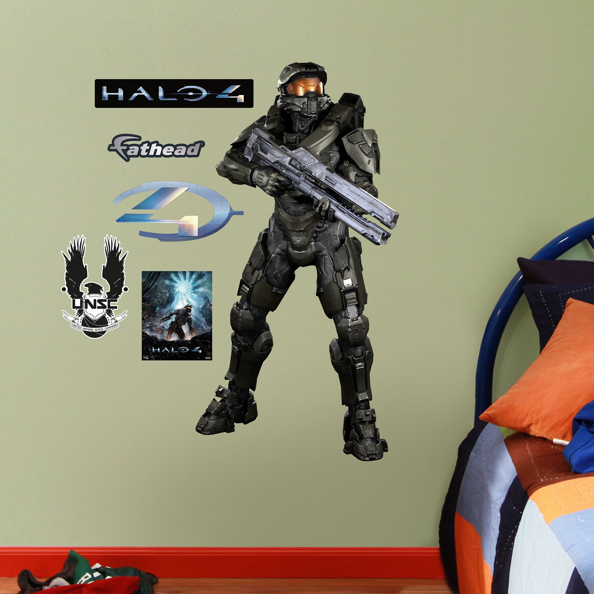 Fathead Jr Master Chief Halo 4 Wall Decals Products Pinterest