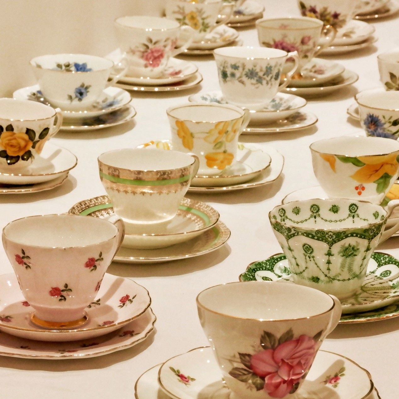 Vintage China Rentals West London Wedding china, Vintage