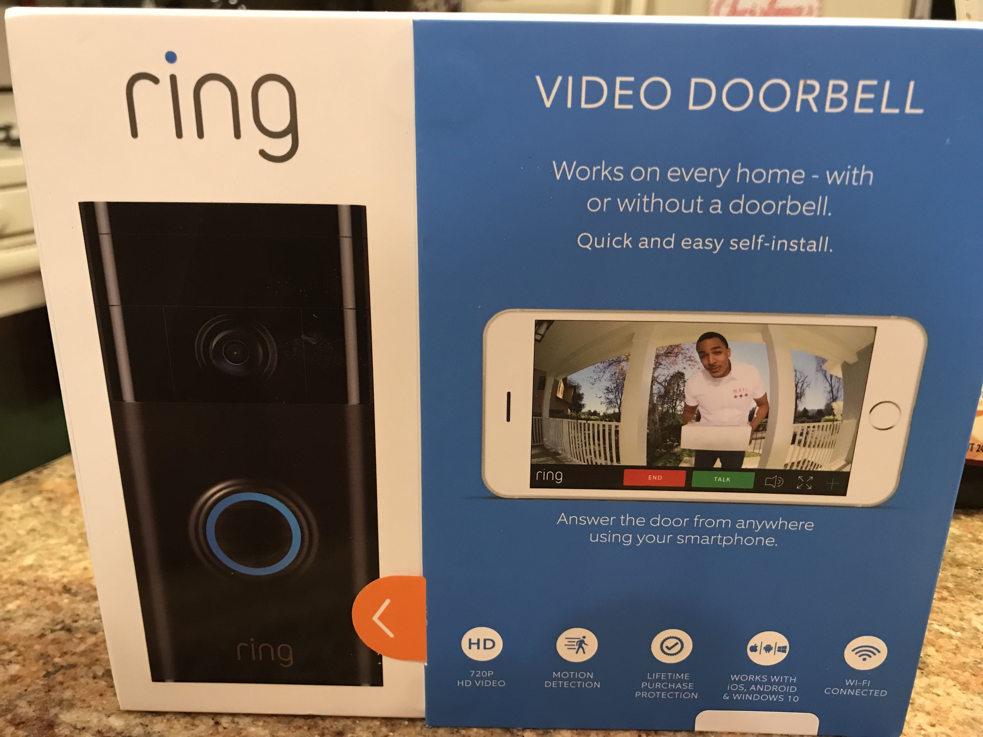 Ring Doorbell Installation so easy, this Mom did it