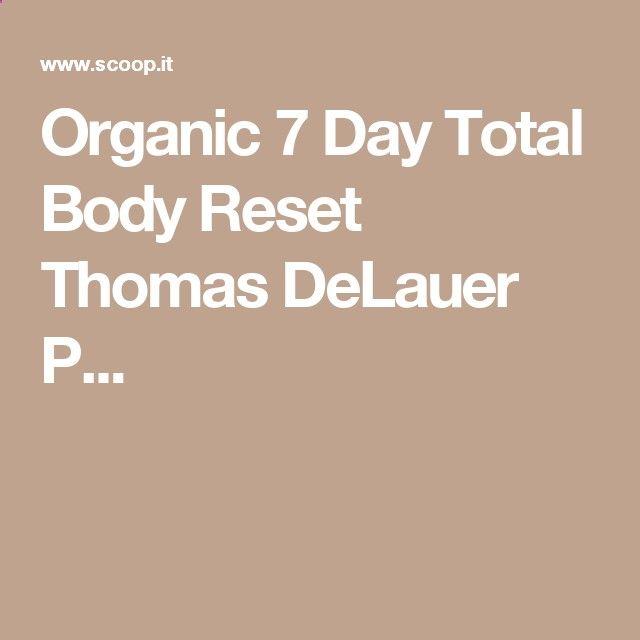 Thomas Delauer Workout Plan