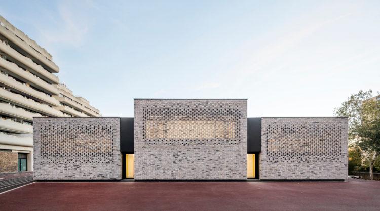 Opus 5 Musical Place De La Foi A Elancourt Chroniques D Architecture Architecte Ecole De Musique Logement Paris