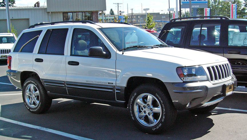 1999 to 2004 jeep grand cherokee Picture of 2004 Jeep