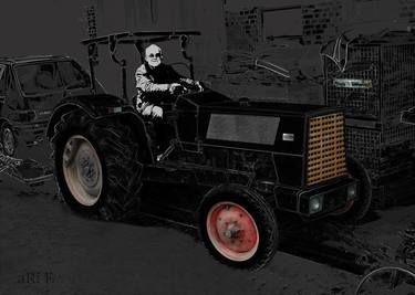 Hanomag Brillant 601 in black & grey