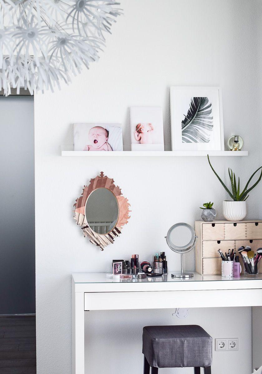 Schminktisch Dekorieren schminktisch ideen 5 tipps für aufbewahrung deko makeup