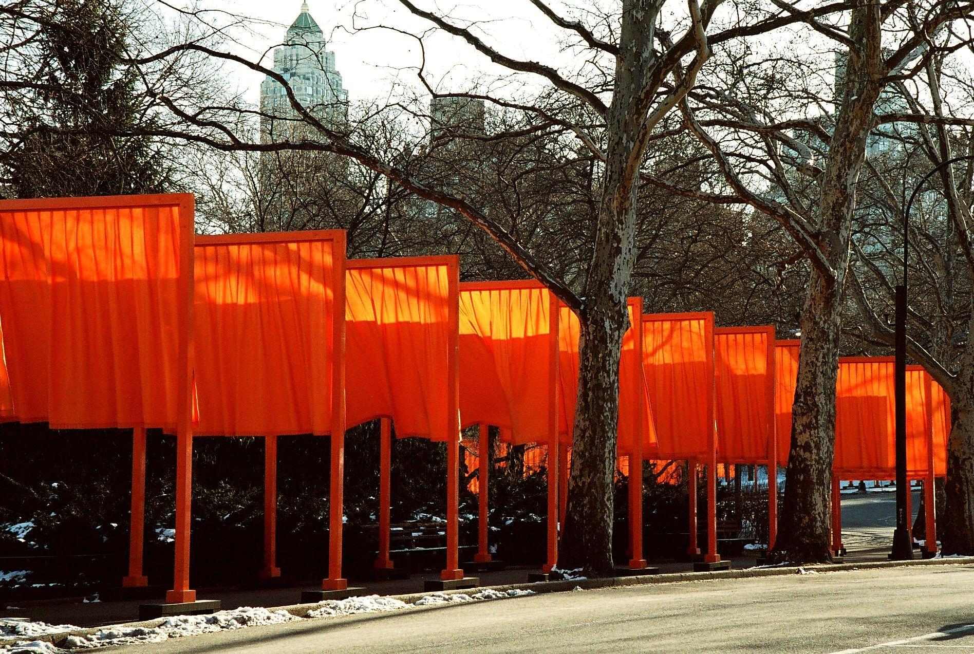 Christo Gates New York Central Park
