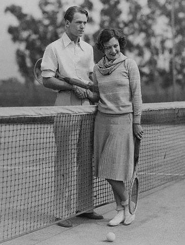 Joan Crawford and Douglas Fairbanks Jr, via Flickr.