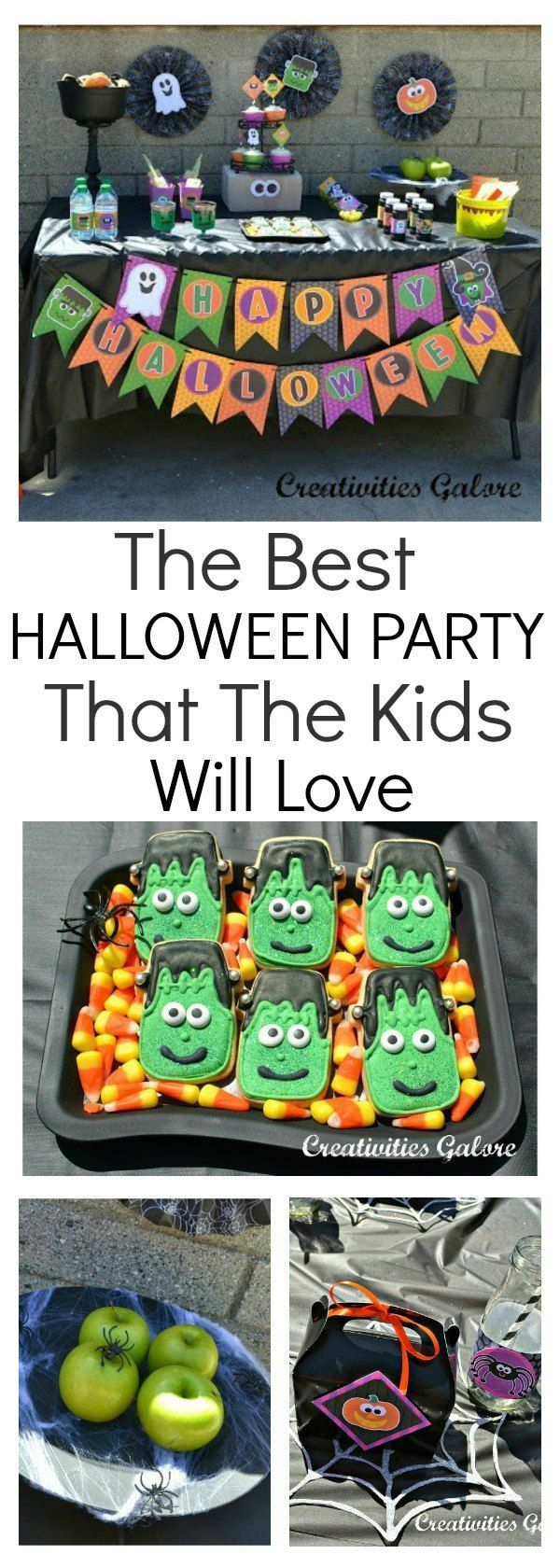 The Best Halloween Party That The Kids Are Going To Love Looking for some Halloween party ideas for the kids? This party has it all. Awesome Halloween decorations, food, and it's as creepy as they come. This is a party that the kids will love with some craft ideas to keep them entertained.