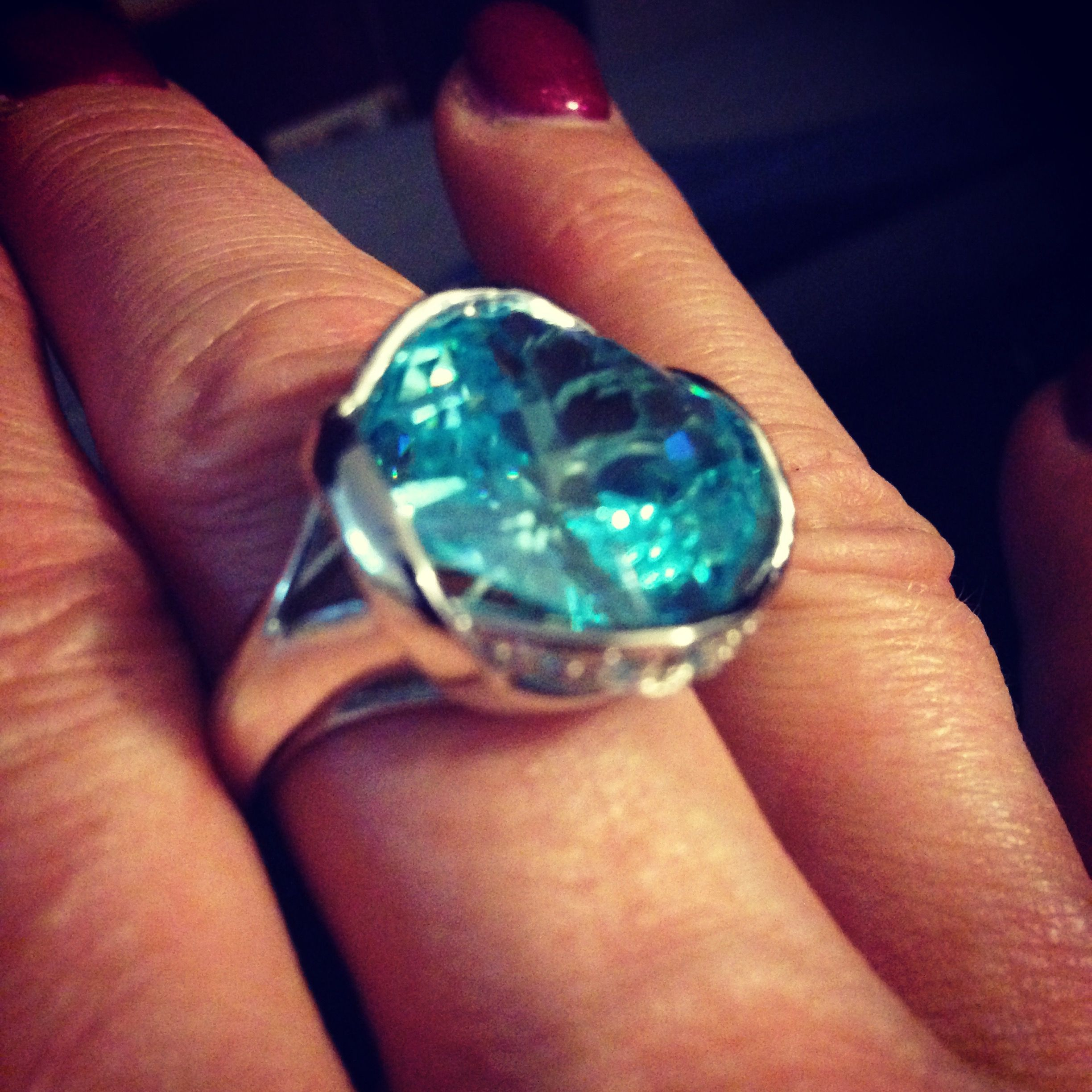 "Beautiful Denise ring. Get yours at www.tocaraplus.com/jirinasamrai #finejewelry #ring ""womensfashion #lovejewelry #bling"