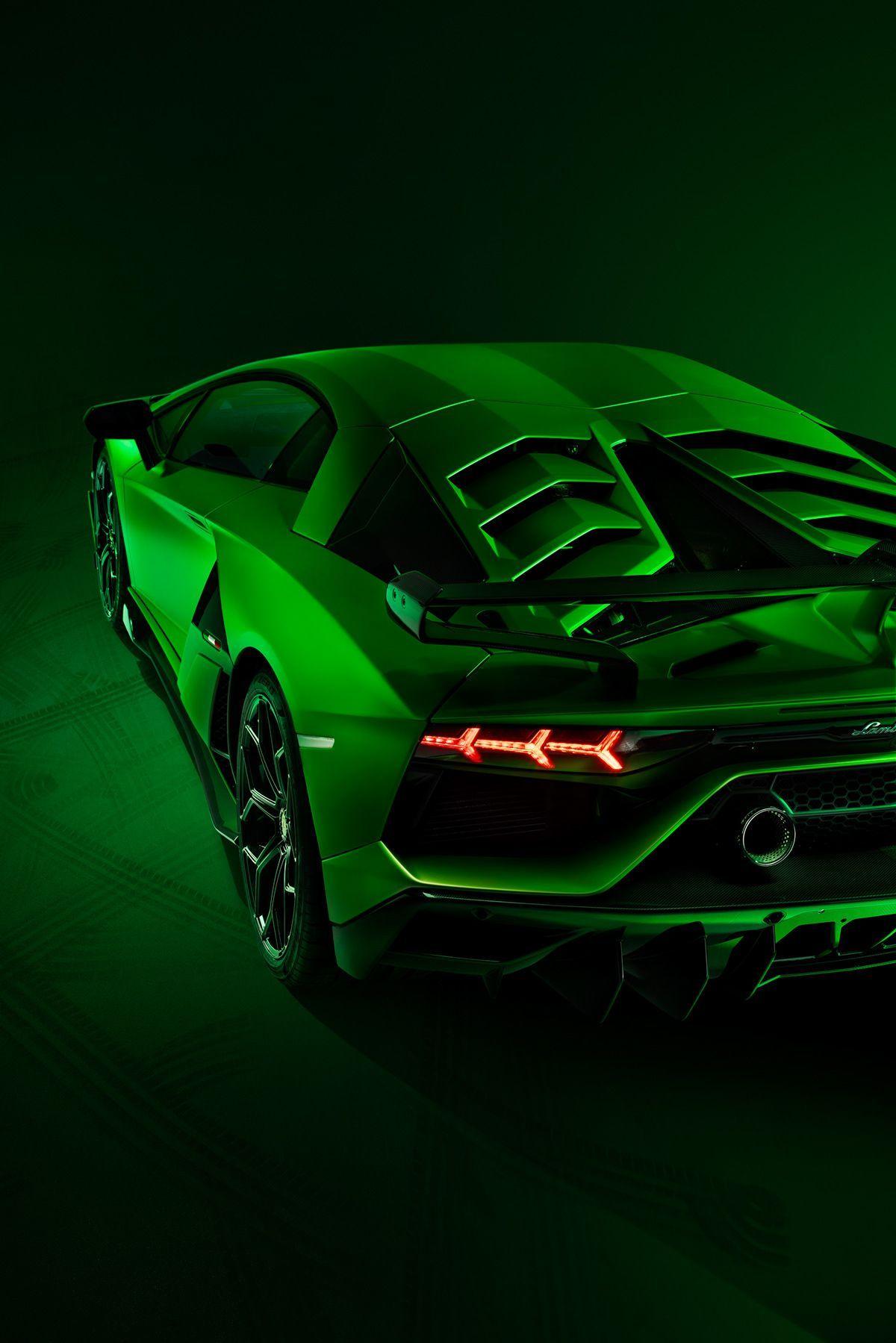 Neon Green Car Wallpaper 4k