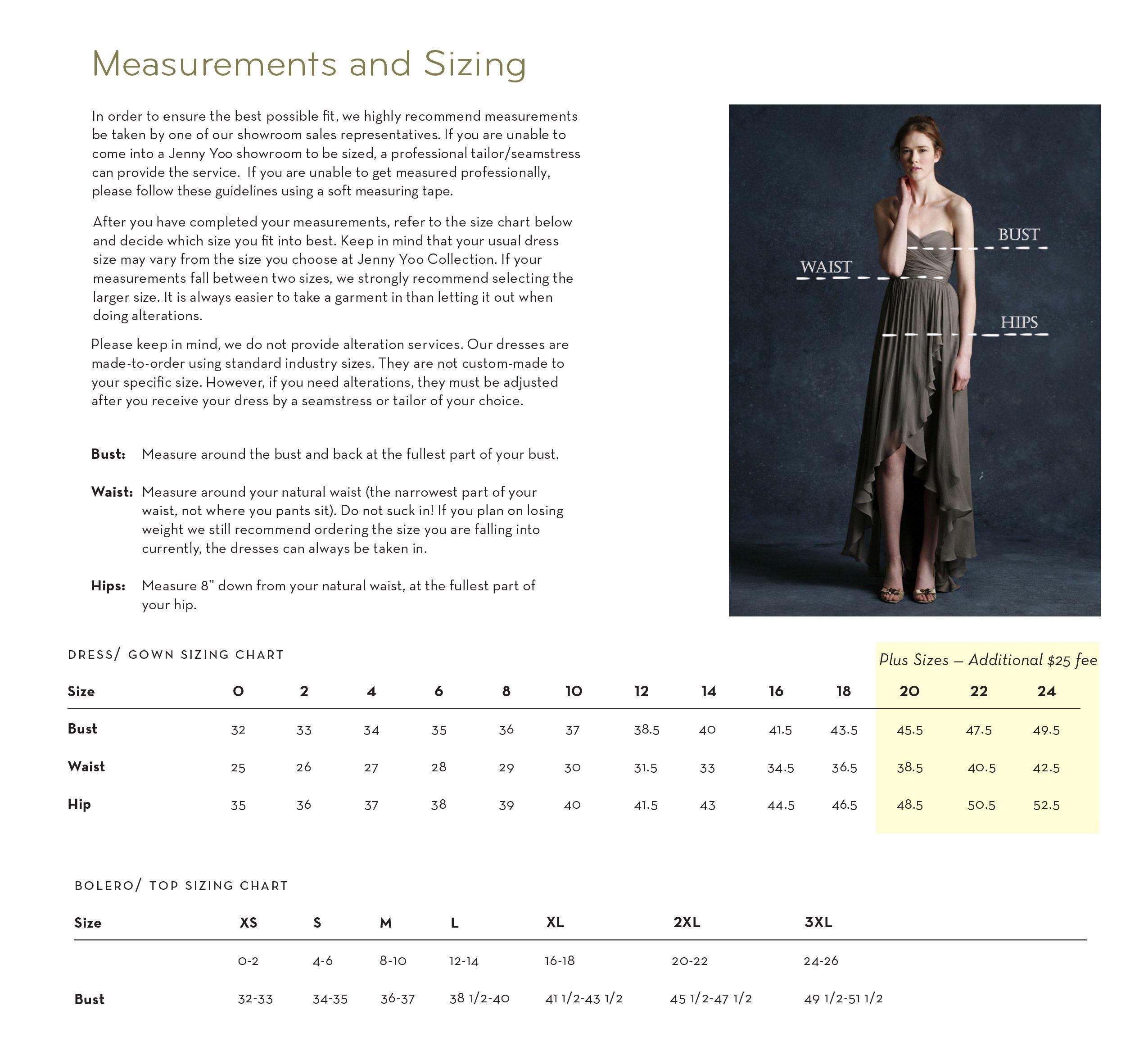 Size chart wedding stuff pinterest chart wedding stuff and wedding bridesmaid dresses size chart ombrellifo Gallery