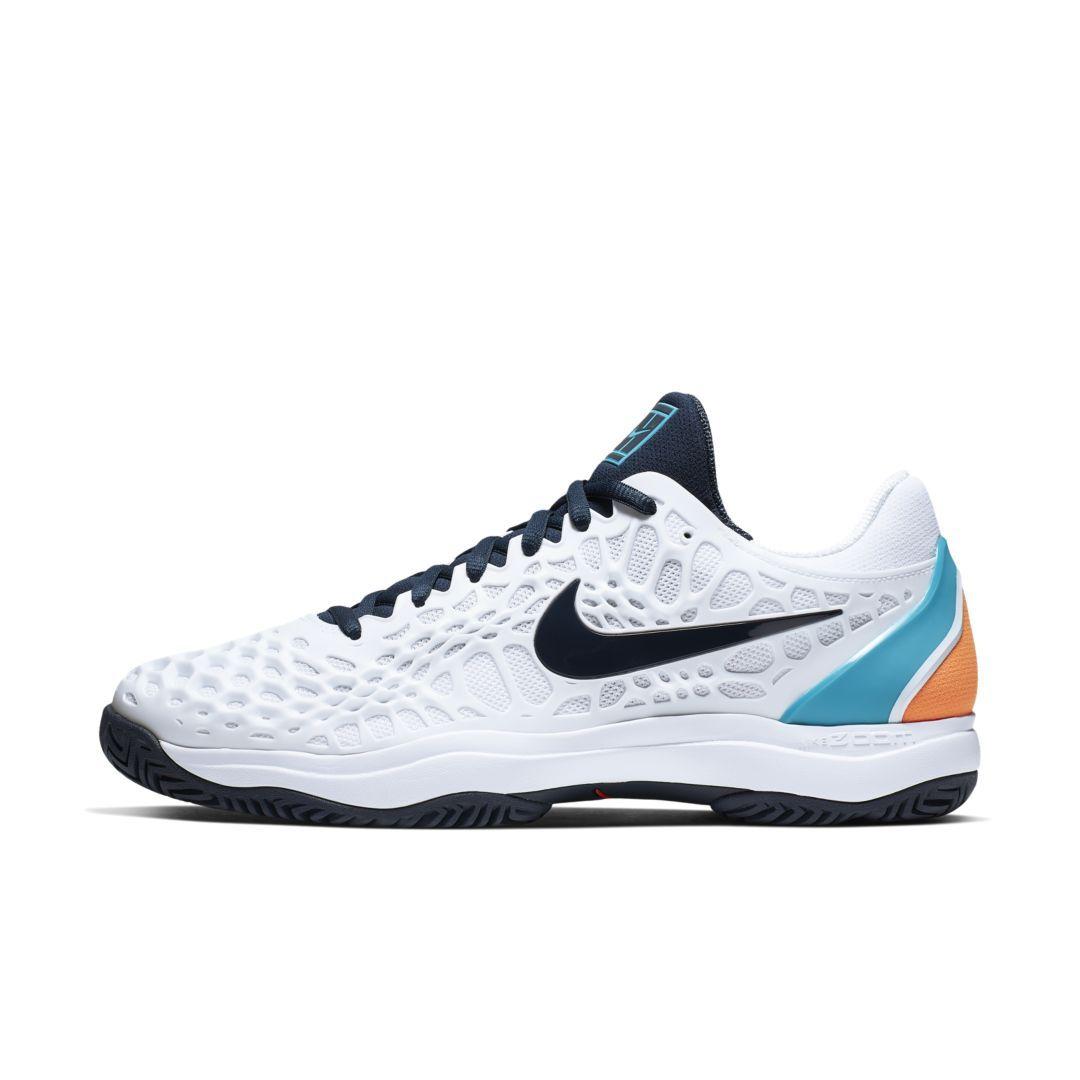 078dc32075a0b1 NikeCourt Zoom Cage 3 Men s Hard Court Tennis Shoe Size 10.5 (White ...