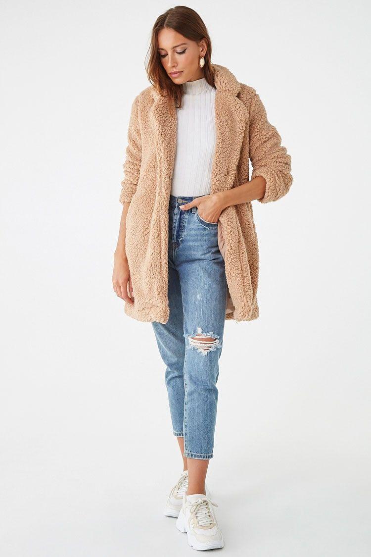 Oversized Teddy Coat in 2019 | Teddy coat, Sweater shop, Fashion