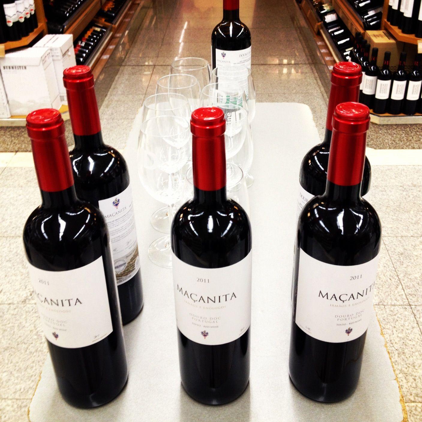 Prova de degustação do Maçanita tinto 2011. Hoje, 3 e 4 de Dezembro no El Corte Inglés, Lisboa!