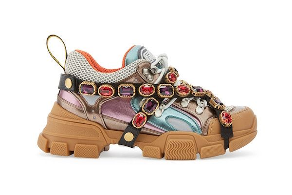 927e3243ec6 Gucci Takes  Dad Shoe  Trend To The Next Level With These Jewel-Covered  Kicks