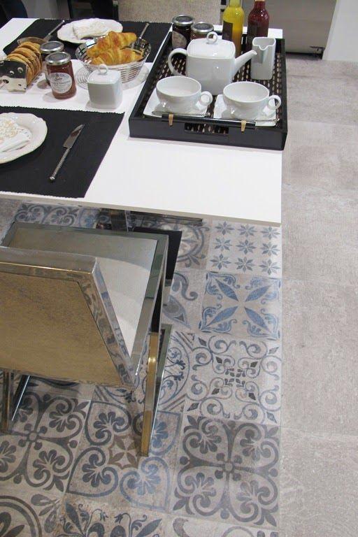 De visita en porcelanosa ministry of deco kitchen - Baldosa hidraulica porcelanosa ...