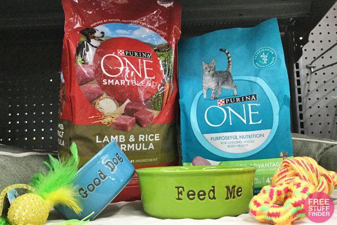 Easy 4 Savings on Purina ONE Dog & Cat Foods at Walmart