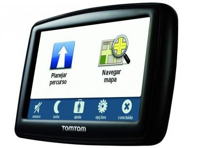 """GPS Automotivo Tomtom Start 45 Tela 4,3"""" - Alerta de Radar e Rota Inteligente com as melhores condições você encontra no Magazine Vrit. Confira!"""
