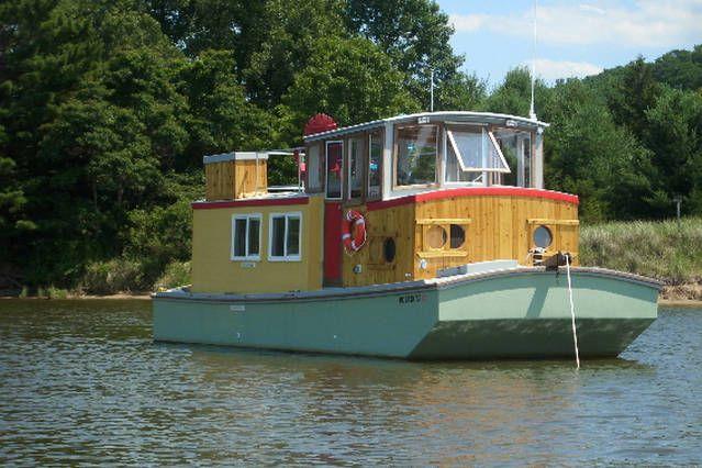 Saugatuck Wooden Boat Airbnb Mobile Dengan Gambar