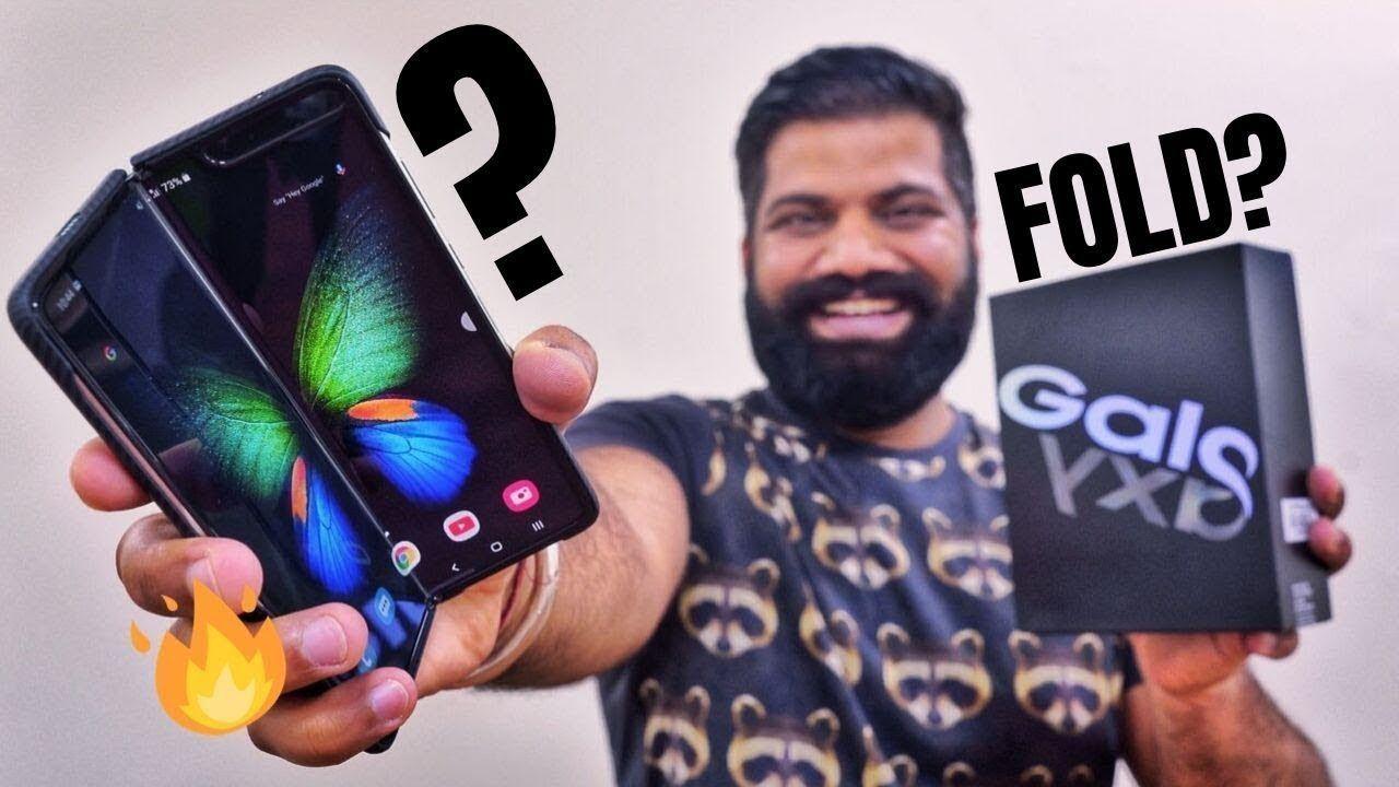 Samsung Galaxy Fold Unboxing |fold phone | Samsung Galaxy fold in Hind