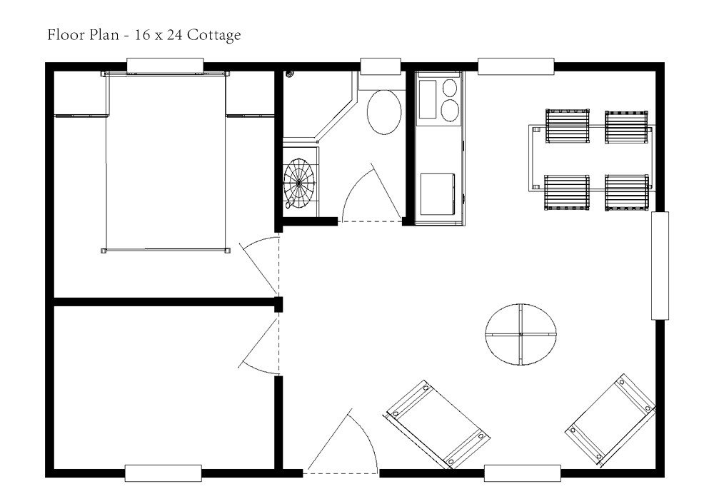 16 x 24 house plan google search loft apartment in 2018 plan rh pinterest fr 16 x 24 house layout 16 x 24 house design