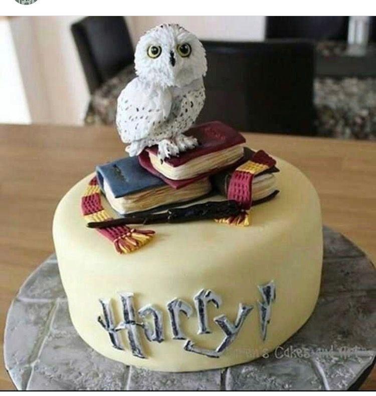 Hp cake Harry Potter Pinterest Cake Harry potter and Harry