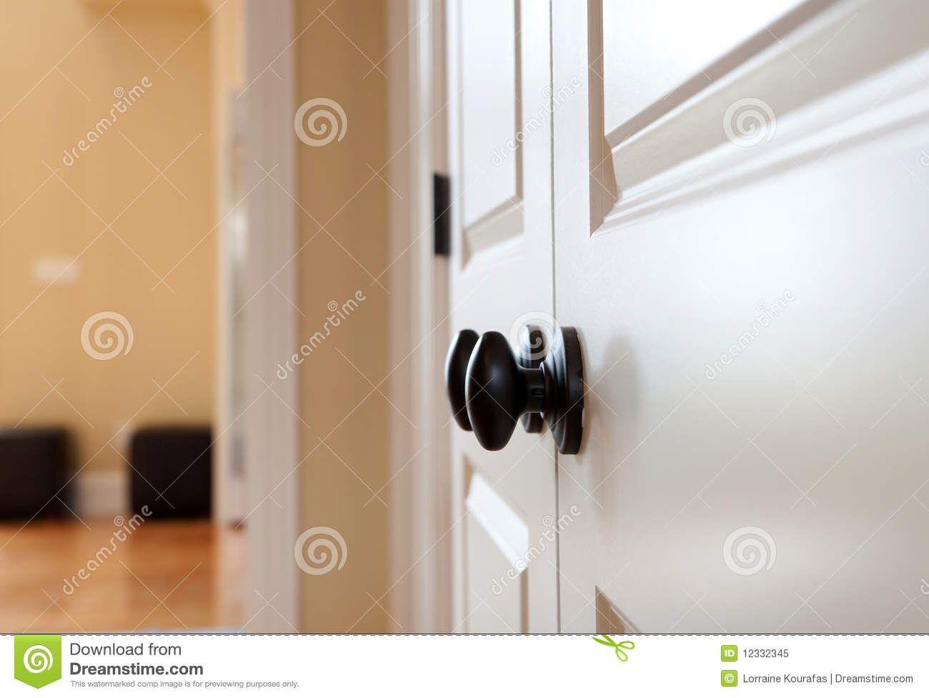 Black Door Knobs Interior Curious Details Room Before U0026 After