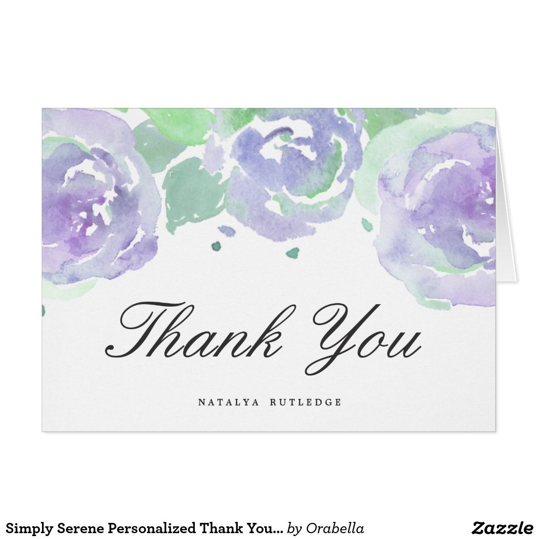 create your own card  zazzle  thank you note cards