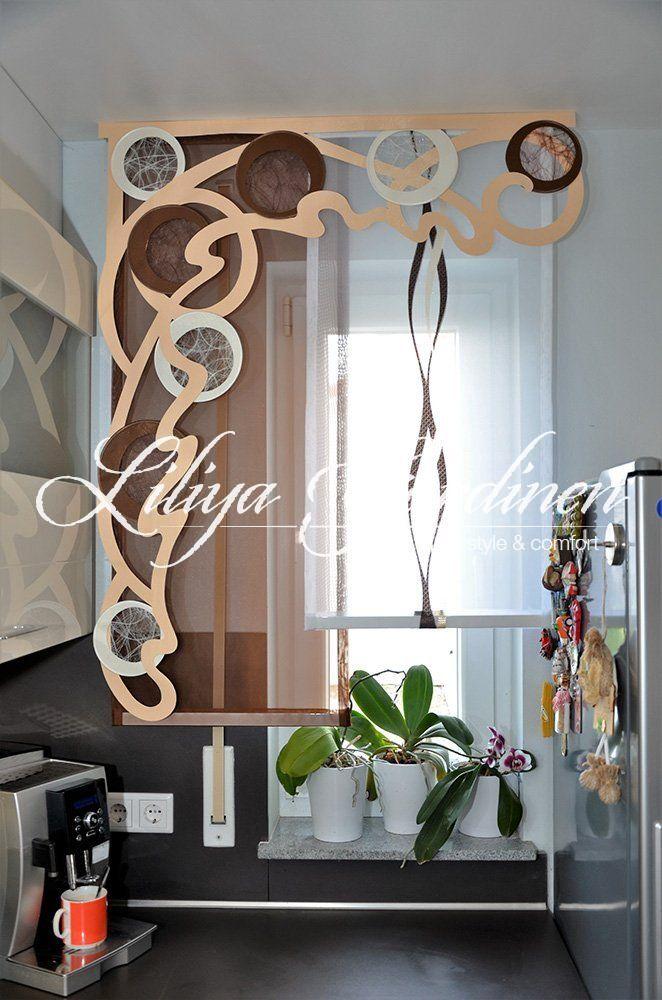 Küche  Bad « Gardinen Liliya dekor Pinterest