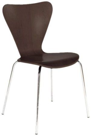 Italmodern Tendy Stacking Chair Cherry Set Of 4 Home