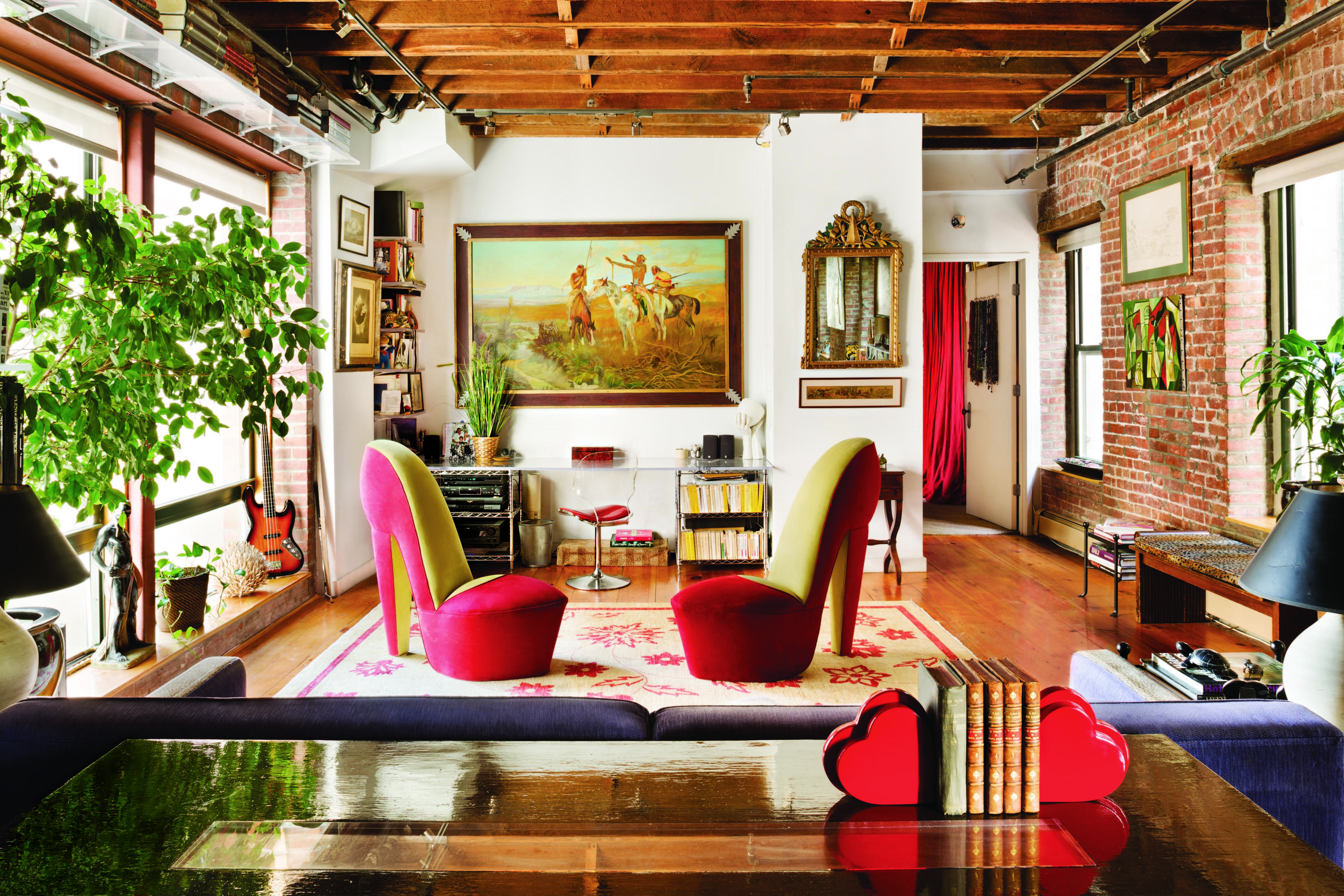 LOOK: Surreal Decor Meets An 1800s Carriage House