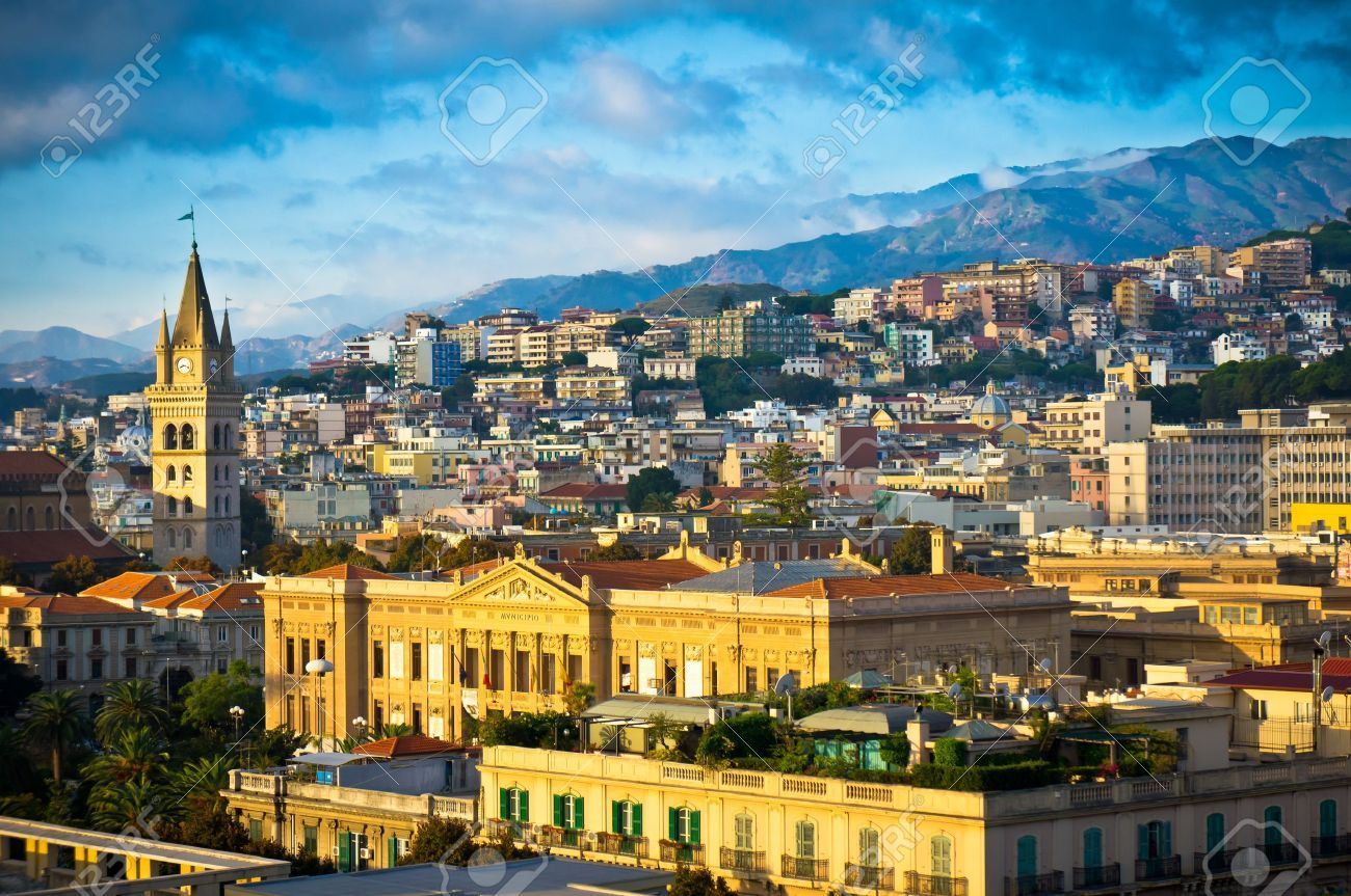Messina old city, Sicily, Italy