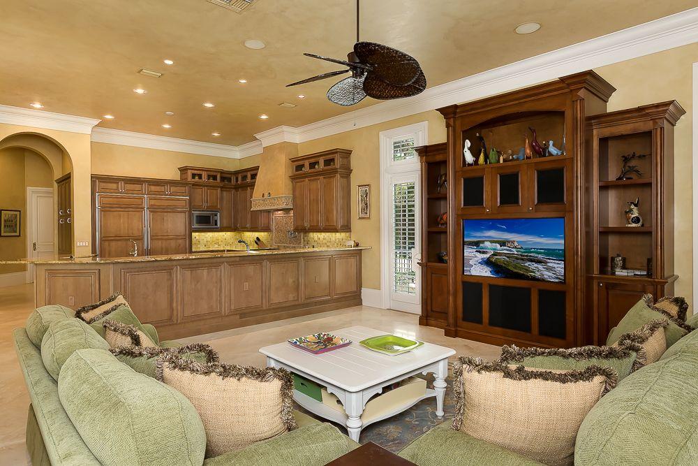 Family Room 6447 HIGHCROFT DRIVE #QuailWest #NaplesFL #NaplesRealEstate #RealEstate #LuxuryRealEstate