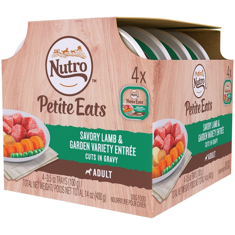 Nutro petite eats multipack savory lamb dog food recipes
