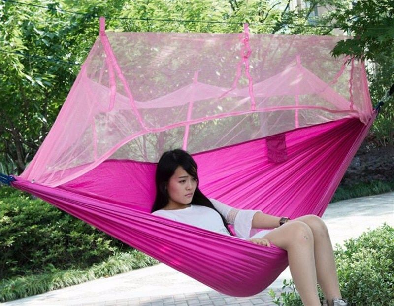 Buy 12 Person Outdoor Mosquito Net Parachute Hammock