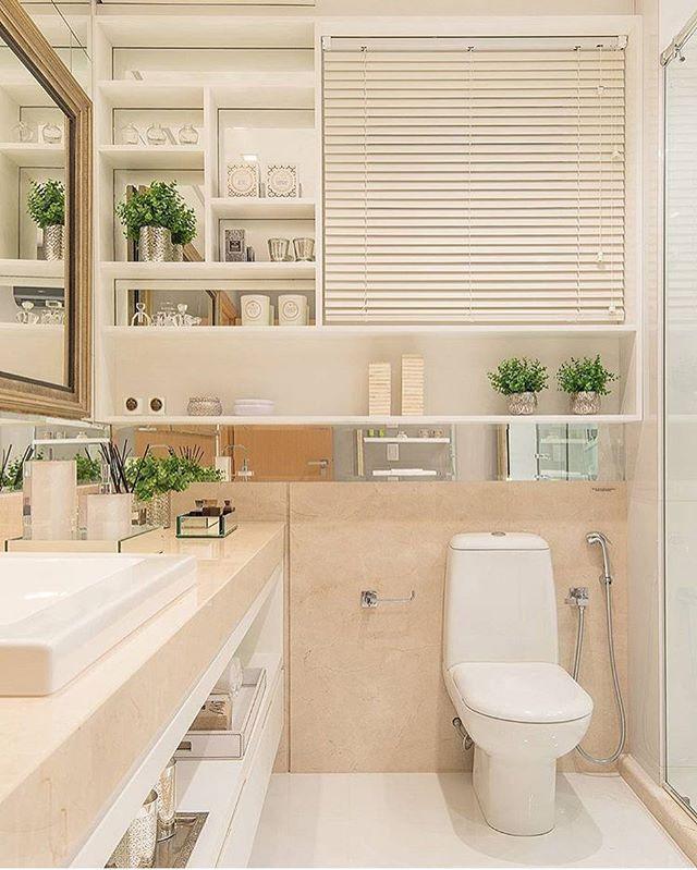 Que luuuuxo de banheiro! Amei  autoria de Bohrer Arquitetura | Foto Felipe Lima | @decoreinteriores