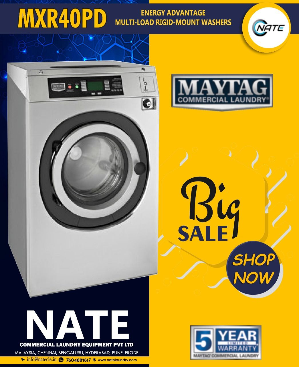 Shop Imported Maytag 15kg Washer For Sale Maytag Usa Commercial Laundry 10 Off 5 Year Warranty Get O Commercial Laundry Laundry Equipment Laundry