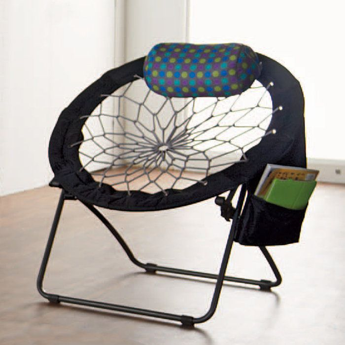 super bungee chair makes sitting fun  these things are super cool  i would want one if there was enough      rh   pinterest