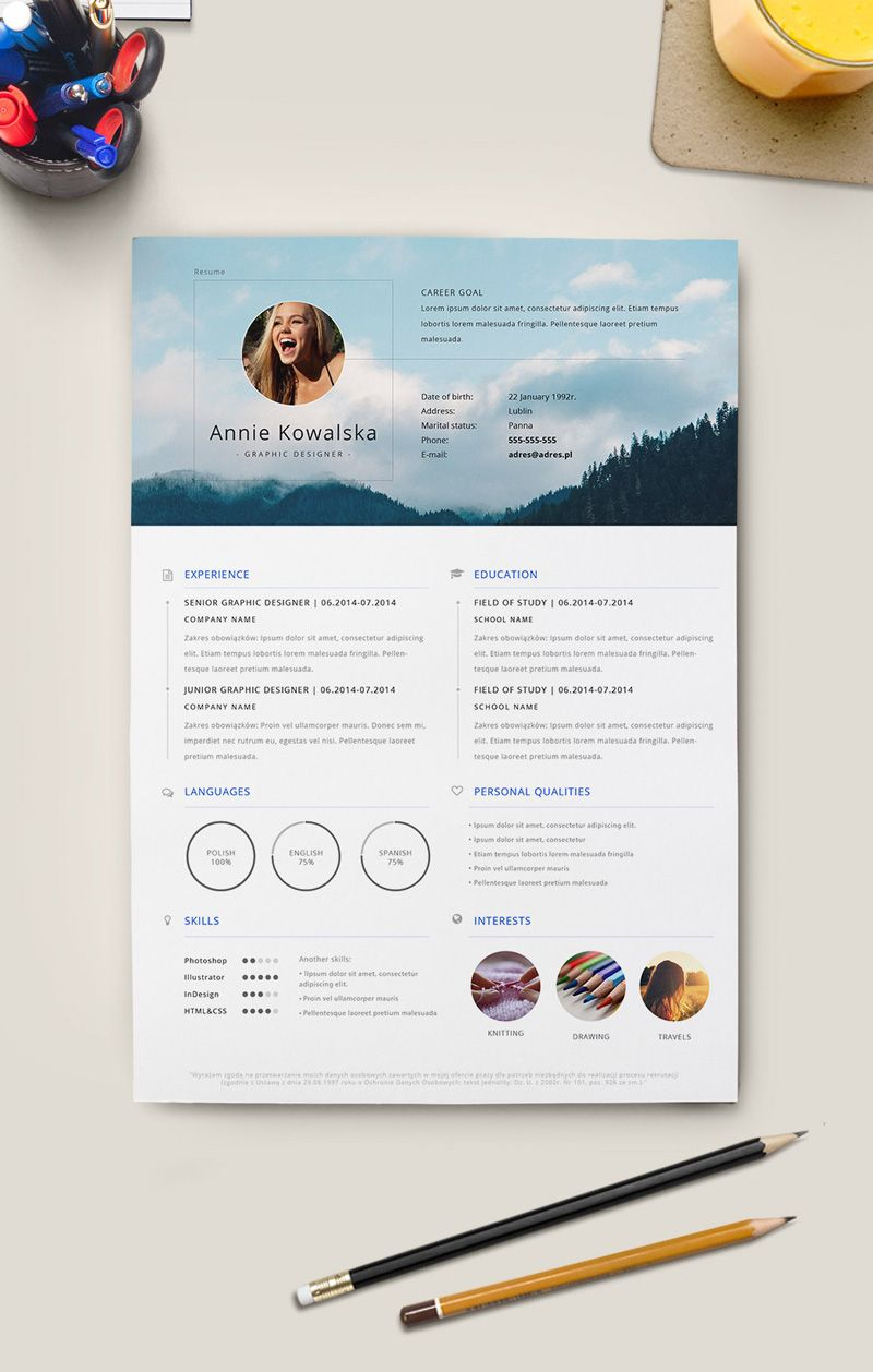 free-minimalistic-resume-template-for-graphic-designers ...