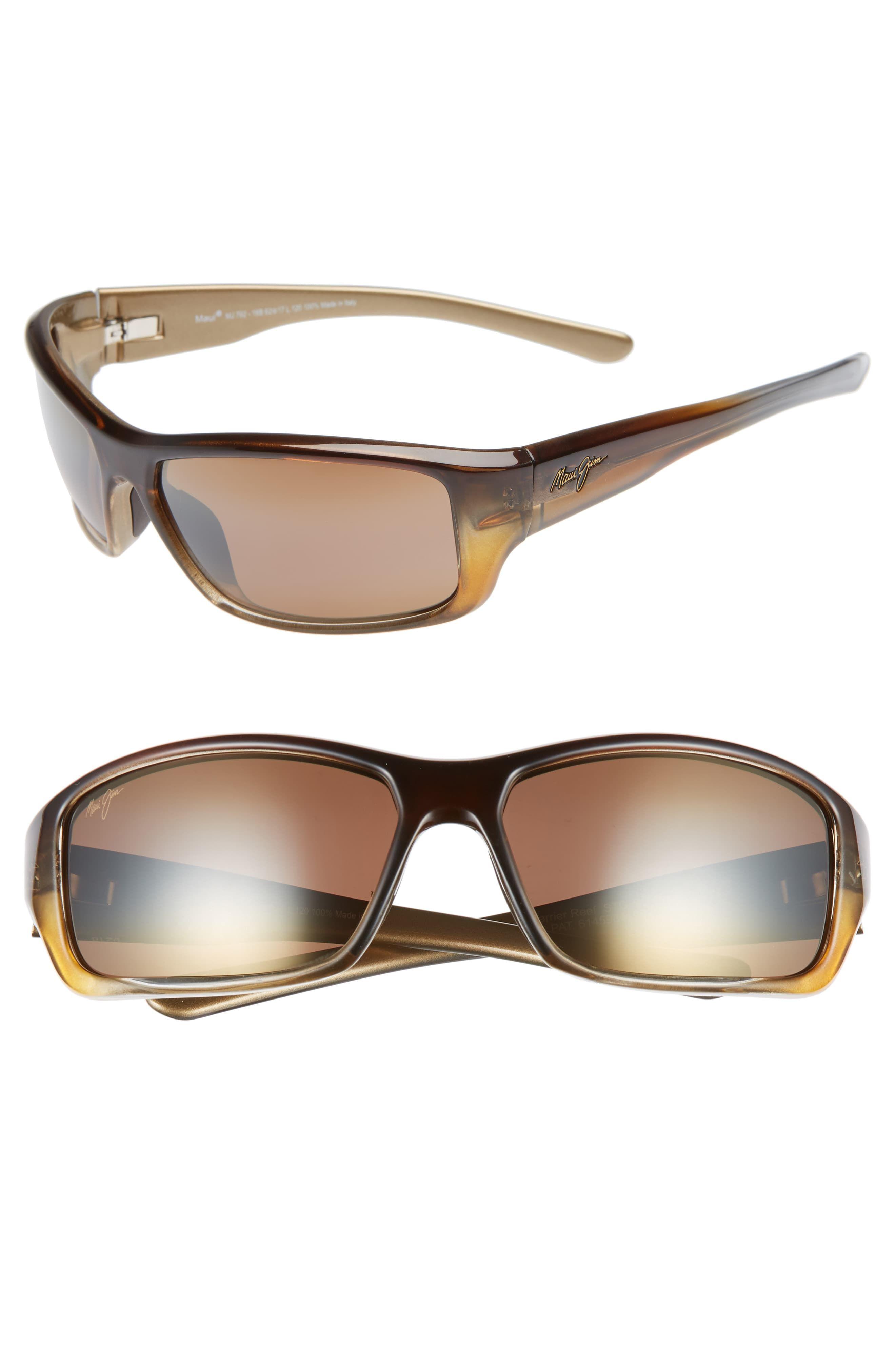 479d026cb82 Men's Maui Jim Barrier Reef 62Mm Polarizedplus2 Sunglasses - Brown Gold/  Bronze