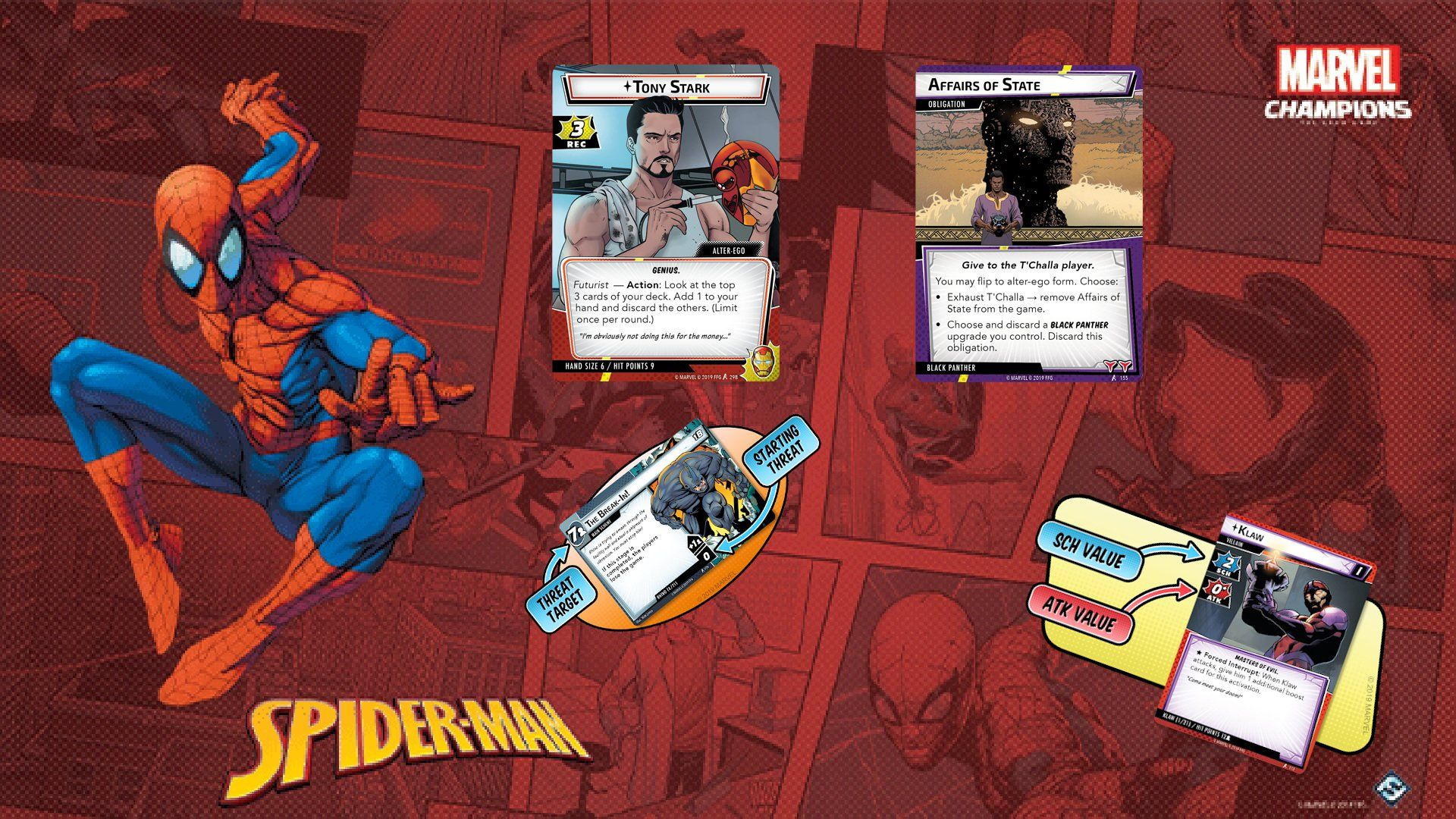 Marvel champions coop card game announced marvel