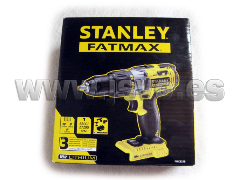 Taladro percutor 18V Stanley FatMax FMC625XJ SIN baterías