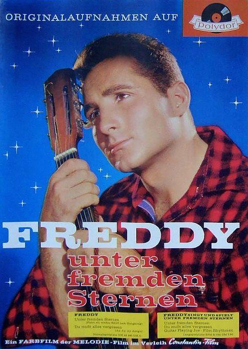 Poster zum Film: Freddy unter fremden Sternen. 1959 ...