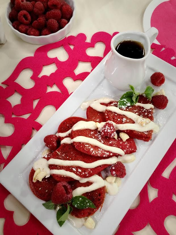 Make Pink Pancakes By Using Beets To Get A Naturally