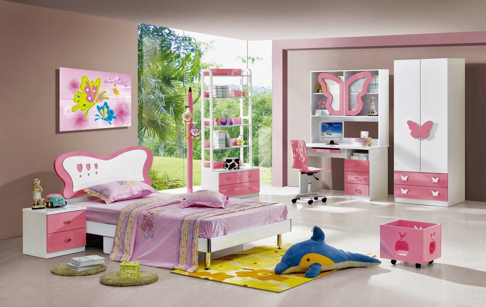 Children Room Design green and white rooms | cheerful kids room interior design with