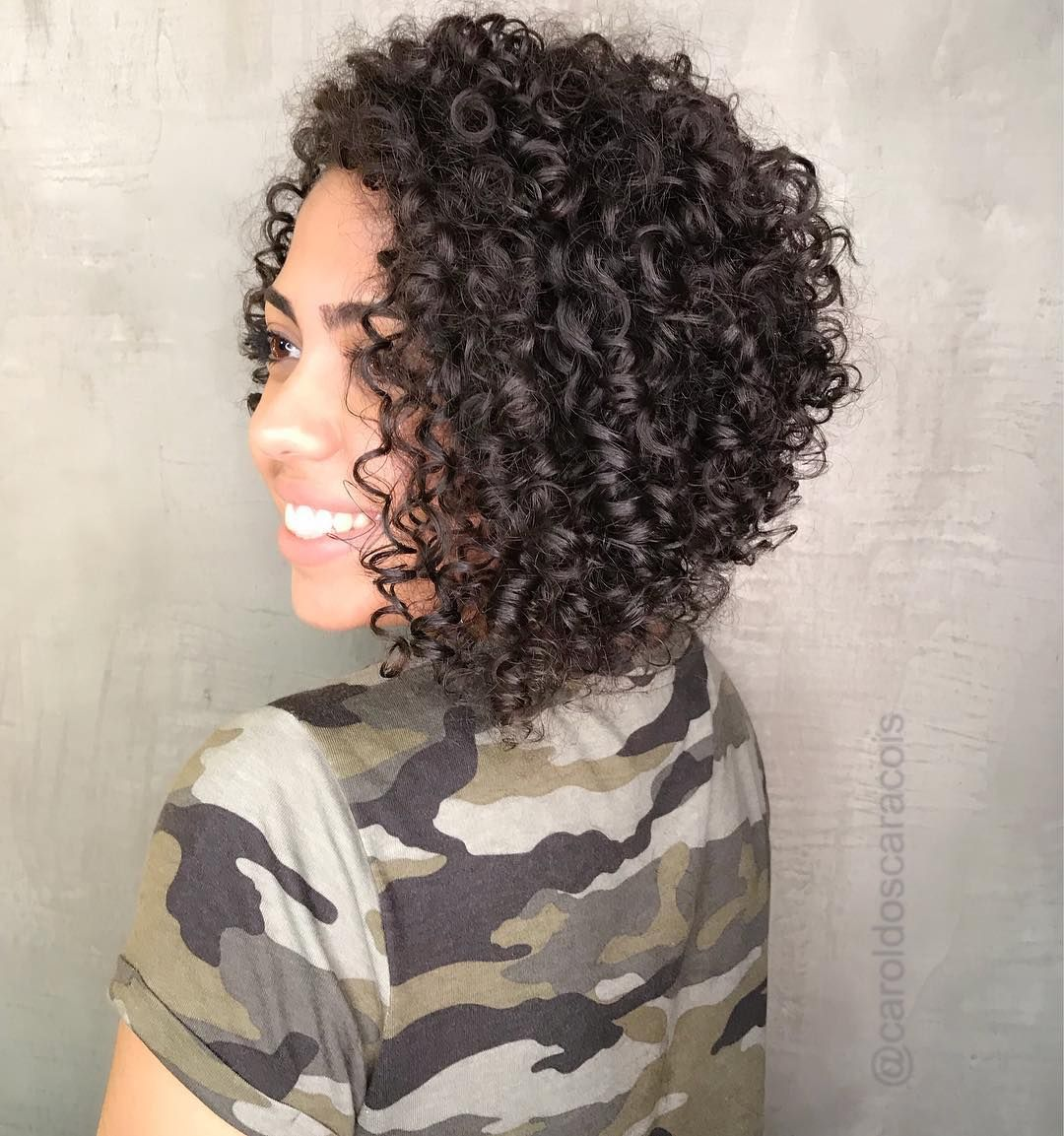 65 Different Versions of Curly Bob Hairstyle | Curly bob hairstyles, Curly hair styles naturally ...