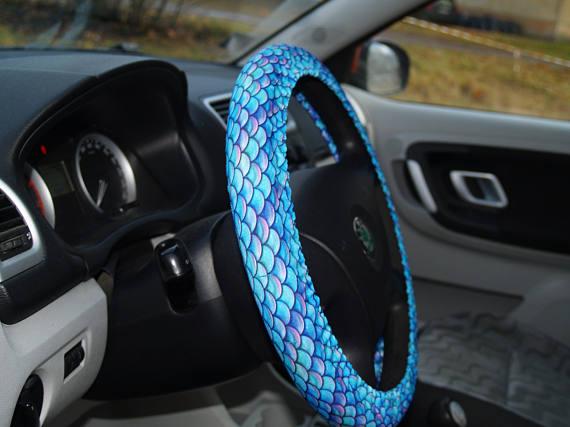 Mermaid Steering Wheel Cover Is Cute Car Accessory Best